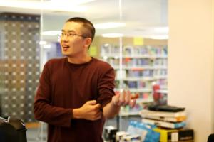 Leong Chun Chong (ex-Disney Interactive Studio Art Director) at KDU's Game Lab