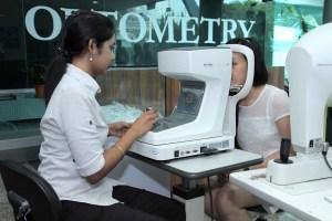 UCSI University offers the degree in Optomotmetry