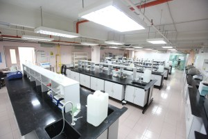 Biochemistry lab at UCSI University