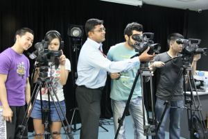 Video Equipment for Communication students at HELP University
