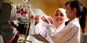 UCSI Food Science students enjoy the highly practical course with a lot of lab work.