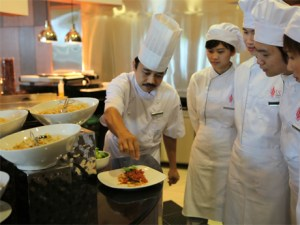 UCSI University Sarawak culinary students are taught by some of the best chefs in Sarawak