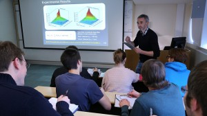 Students are taught by world class faculty at Heriot-Watt University