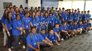Heriot-Watt University Malaysia's Foundation Students at the new campus