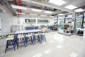 Geomatic and Concrete Lab for Civil Engineering at UCSI University