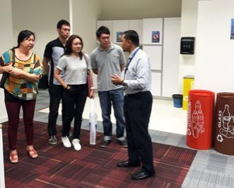 I received a lot of in-depth information about the course & university from EduSpiral. He took us around for a campus tour as well as the hostel in Cyberjaya.