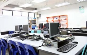 Robotic PLC Micro-Processor Lab for engineering students at UCSI University