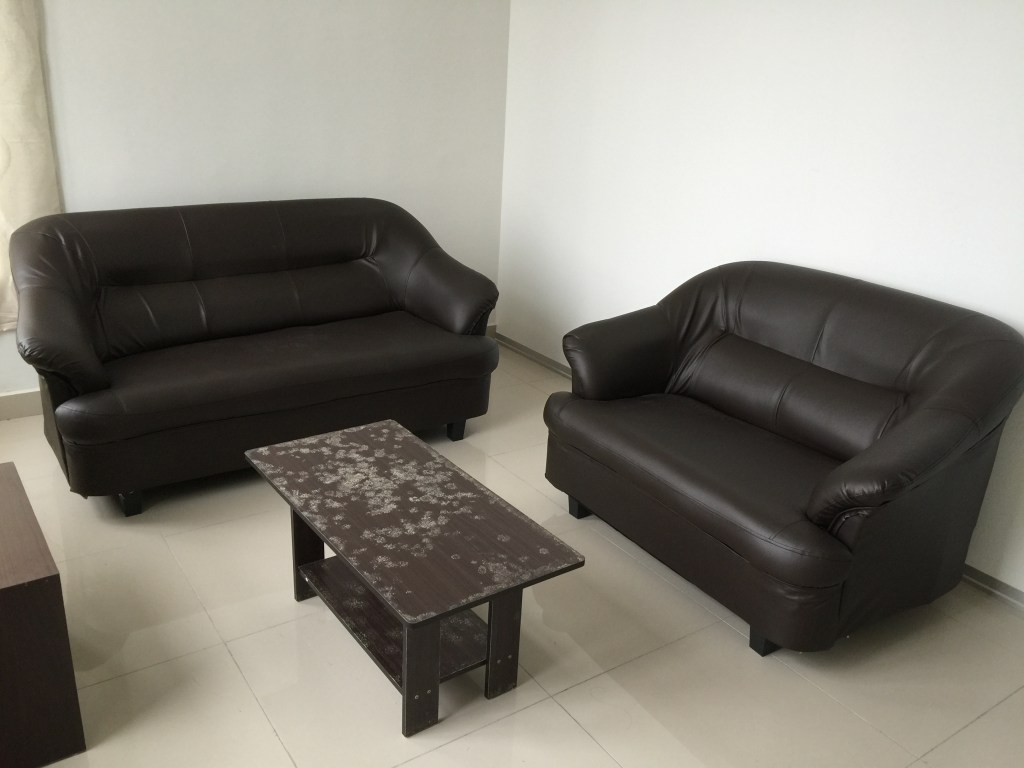 Living Room at the Arc Condo, student accommodation for Heriot Watt University Malaysia