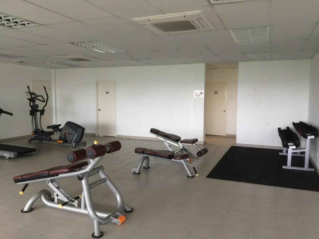 Gym at the Arc Condo, student accommodation for Heriot Watt University Malaysia