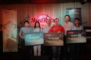 Asia Pacific Students win awards at the E-Genting Programming Competition (EGPC) 2014