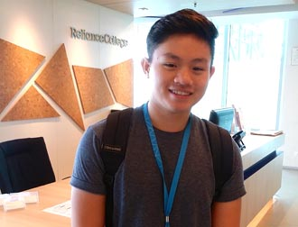 I talked to EduSpiral online and after touring the campus, I was able to make a better decision. Yoon Shen, Hotel & Tourism Graduate from Reliance College
