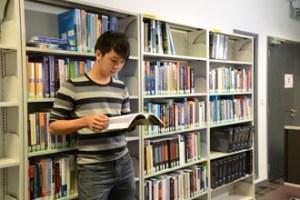 Extensive library at Heriot-Watt University Malaysia