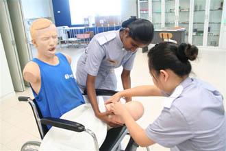 Nursing Practical Lab at UOWM KDU Penang University College