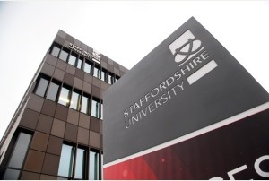 Staffordshire University is a top rated university in the UK
