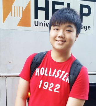 EduSpiral helped me with my application and even took me to my hostel from KL Sentral to check in. Dexter Leong, A-Levels at HELP Academy