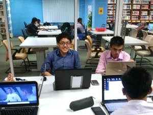 Group Discussion Rooms at Asia Pacific University for a conducive study environment