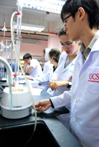 UCSI University is equipped with excellent science labs