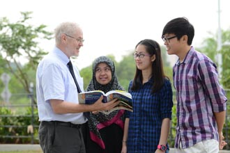 Students at Heriot-Watt University Malaysia are taught by top professors and receive personal attention
