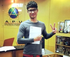 After explaining in detail, EduSpiral took me & my parents to tour the campus & helped with the scholarship application. Darren Fong, Engineering at Asia Pacific University