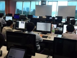 Asia Pacific University students have access to state-of-the-art computer facilities that include the latest PCs and workstations with Internet connection, operating systems, software suites and commercial programming software in multiple IT labs built for project work, multimedia production, software and internet programming.