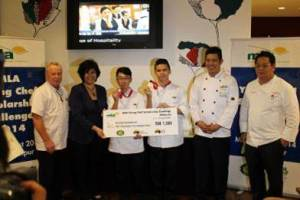 KDU College Penang Culinary Arts students Daniel Foo and Teh Kah Hin made it to the final round as one of the top 6 finalists and emerged as the second runner-up winner in the MLA Scholarship Challenge 2014