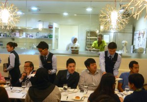 YTL International College of Hotel Management students learn in a real life hotel environment at the prestigious Starhill Gallery in Kuala Lumpur