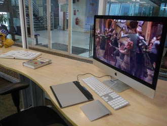 Students at APIIT will learn how to use animation and design software on Macs