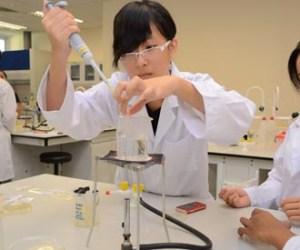 Biotechnology Petridish experiment at Nilai University's Lab