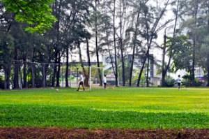 Football field at KBU International College