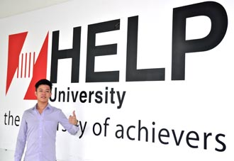 I was confused about which university to study. EduSpiral talked to me and took me to tour the campus to help me with my decision. Eddy Soo, Business Graduate from HELP University