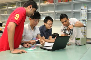 Electronics Lab at KDU College Penang