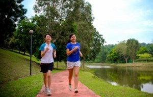 Lakeside Jogging Track at Nilai University