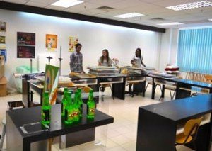 KDU College Penang design students learn in a creative and interactive environment