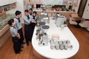 BERJAYA University College of Hospitality Coffee Lab