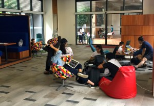 An excellent study environment at HELP University Subang 2