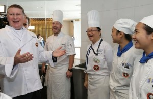Berjaya University College of Hospitality culinary students are exposed to visiting celebrity chefs to enhance their learning skills
