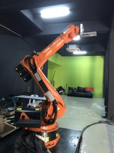 Robotic Arm Camera for Film Studies at Point College