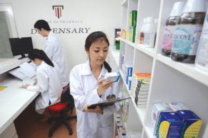 Pharmacy facilities at Taylor's University