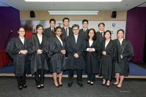 Law students at Taylor's University