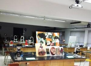 Biology lab at Taylor's College Subang Jaya Campus