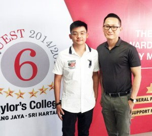 EduSpiral advised me to go for the best college for A-Levels in order to fulfil my dream of entering an Ivy League university in the USA. He met us at Taylor's College Subang to talk to us and tour the college. Gi Hang, A-Levels at Taylor's College