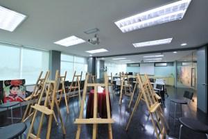 Drawing studio at IACT College