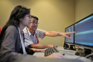 Editing Lab for Communication Students at IACT College