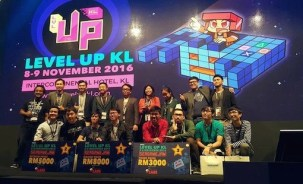 KDU GAME DEVELOPMENT students emerge victorious at LEVEL UP KL 2016