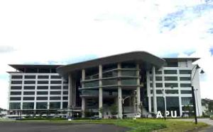 Asia Pacific University (APU) new campus is located in the safe Technology Park Malaysia with free bus shuttle to the Bukit Jalil LRT