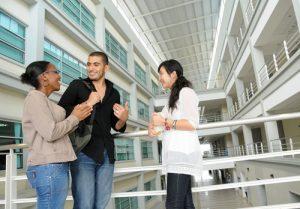 A stimulating study environment at Multimedia University (MMU) Cyberjaya