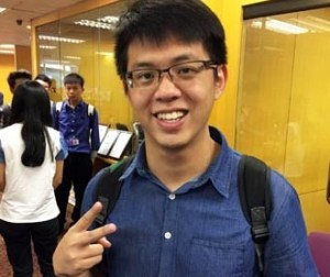 I didn't want to leave Penang for my studies but EduSpiral provided detailed information to help me make my decision. Vincent Lim, Software Engineering, Asia Pacific University (APU)