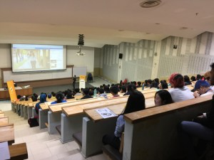 Lecture Hall at Multimedia University (MMU) Melaka