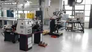 Mechanical Engineering lab at Heriot-Watt University Malaysia