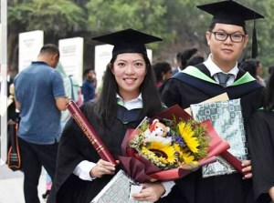 EduSpiral advised us that the Foundation in Science going into Pharmacy would be our best choice because our STPM results didn't meet the requirements. Leow En Qi and Sin Jie, graduated from Pharmacy at UCSI University